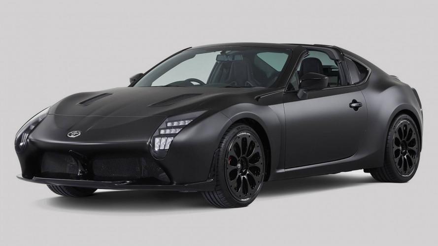 Toyota GR HV Sports Concept, studio di