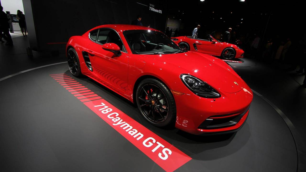 Porsche 718 Cayman GTS Live Photos