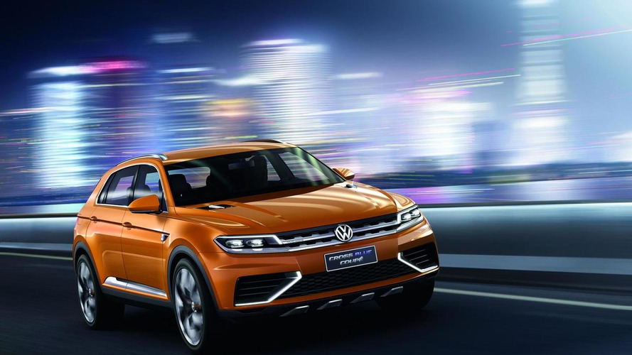 Volkswagen CrossBlue Coupe Concept officially unveiled