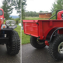 A '49 Dodge with a Corvette Heart Makes for One Tough Truck