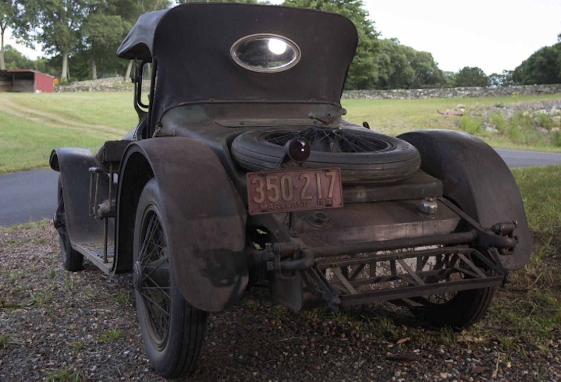 1921 Stutz Bearcat Headed to Auction With Plenty of Patina