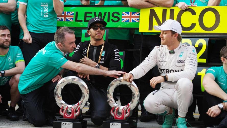 Hamilton tells Rosberg to race him