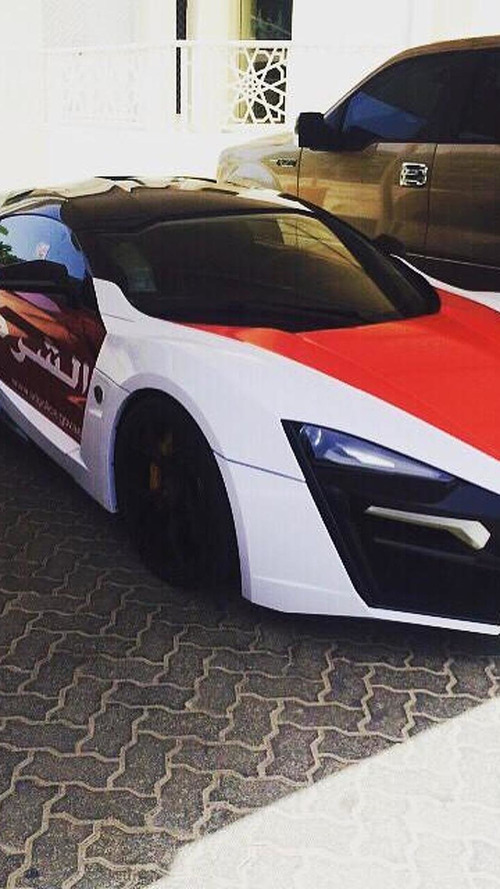 Lykan Hypersport added to Abu Dhabi police fleet