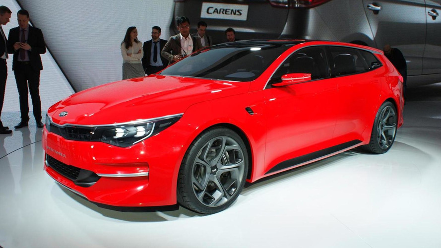 Kia Optima getting a second body style, could be a wagon