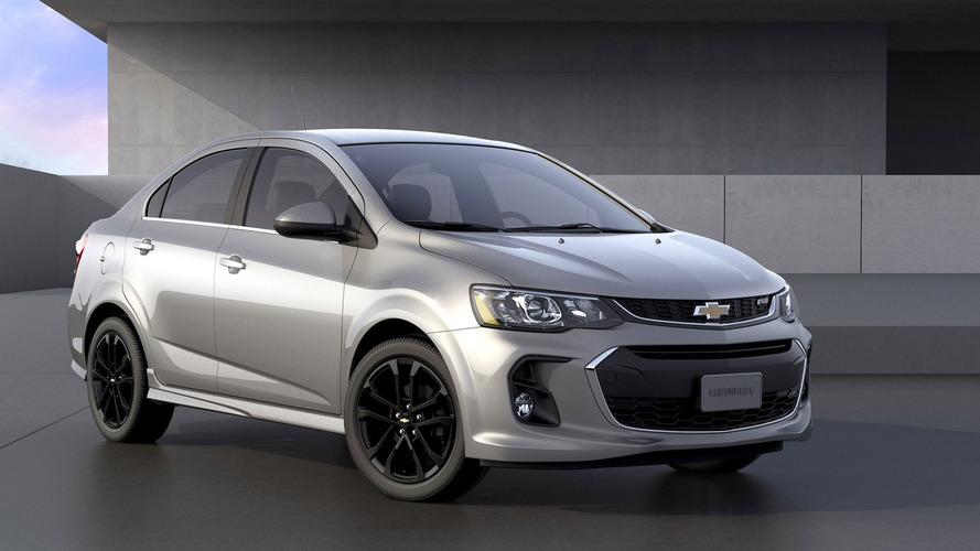 2017 Chevy Sonic facelift unveiled for New York