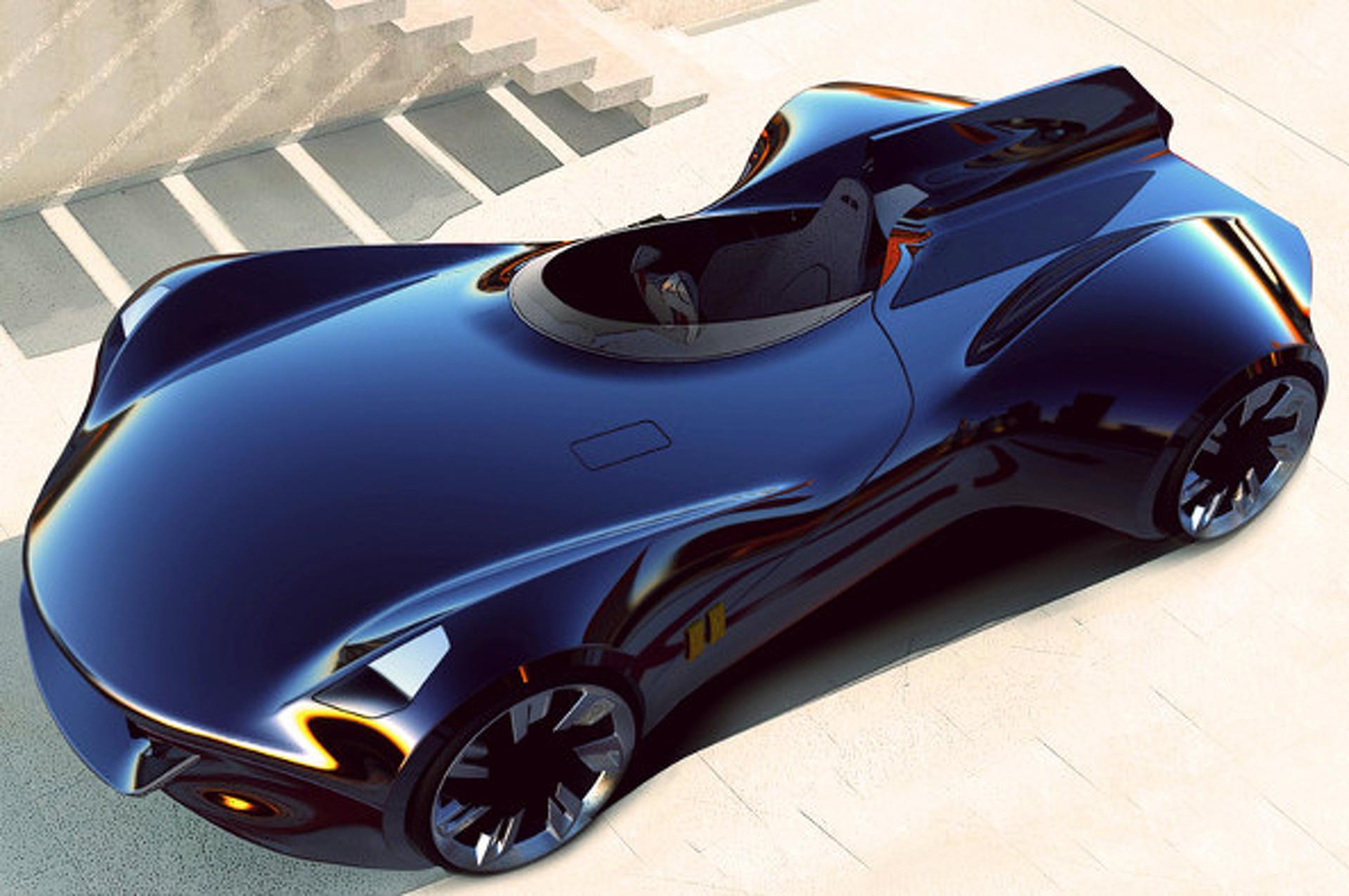 Jaguar XK-I Concept Conjures Iconic Jags of the Past