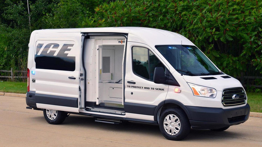 Ford Transit Prisoner Transport Vehicle concept unveiled