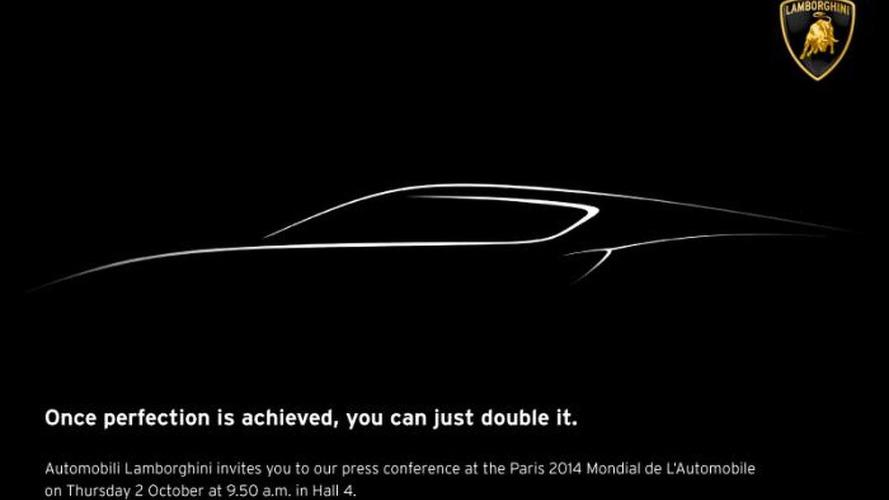 Lamborghini teases a mysterious new concept for Paris
