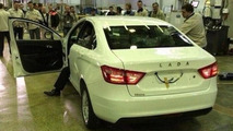 Lada Vesta production-spec