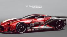 Nissan Vision Gran Turismo GT2020 concept render