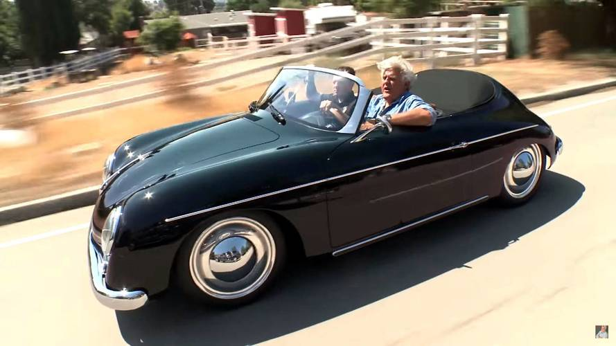 Porsche Cayman Does Its Best 356 Impression In Jay Leno's Garage