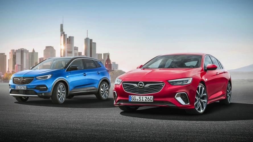 Opel au salon de Francfort avec le Grandland X et l'Insignia GSI