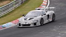 McLaren 675LT Race Car Spy Photos