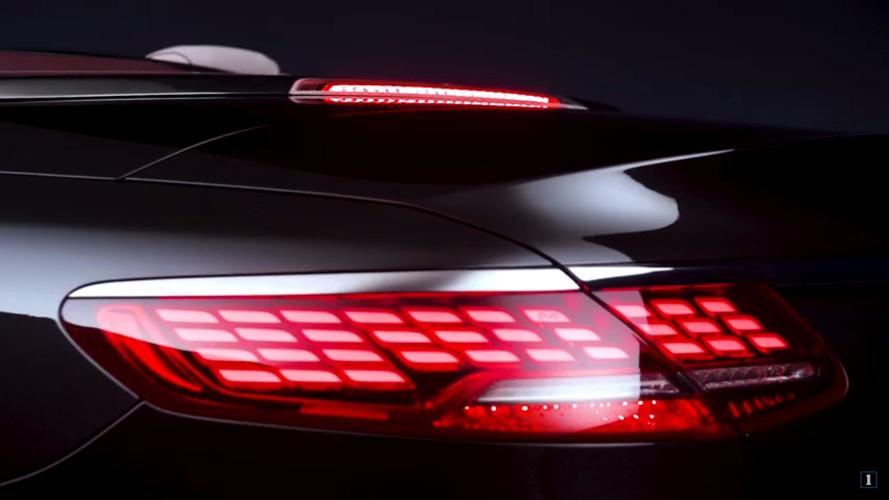 2017 Mercedes S-Class Cabriolet OLED stoplarla gelecek