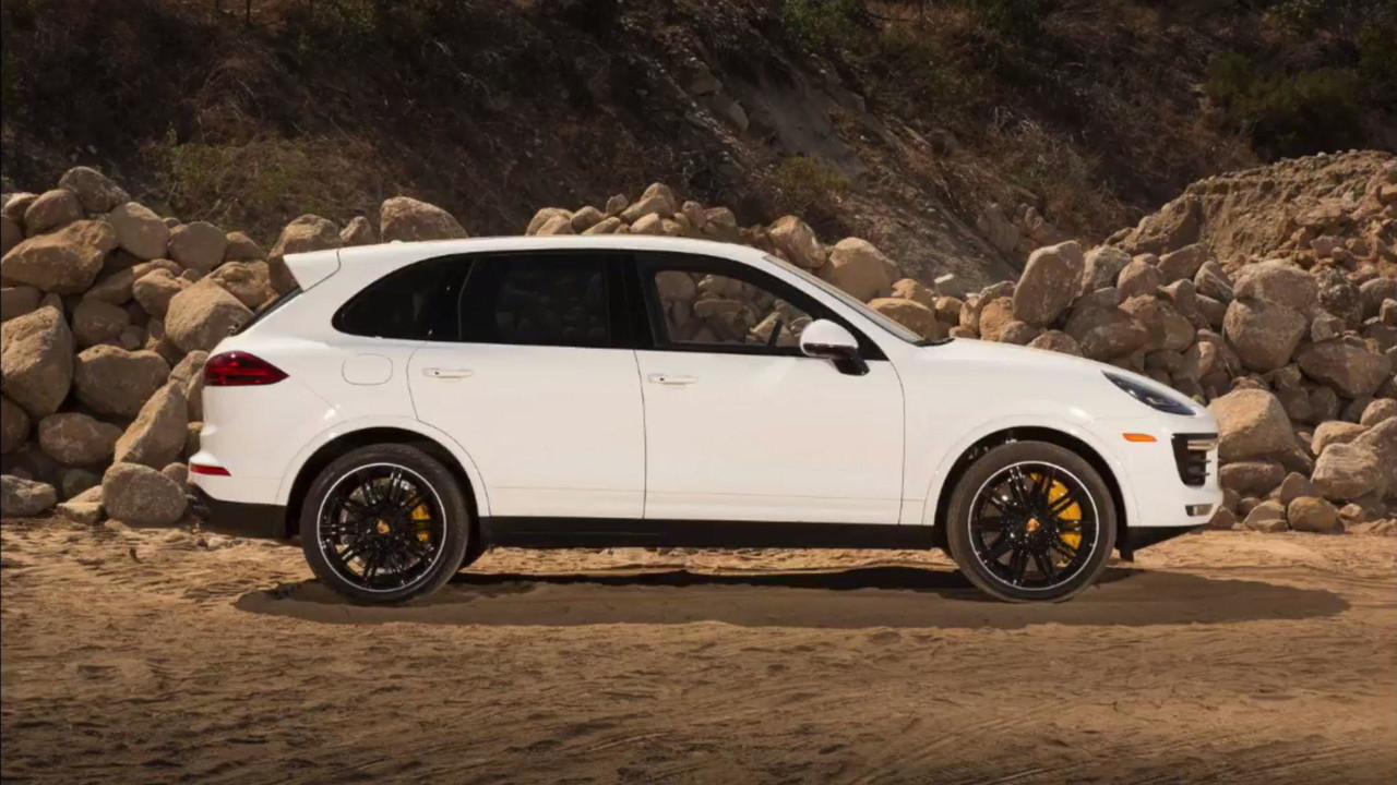 Porsche Cayenne Rendering