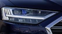 2019 Audi A8 laser headlight