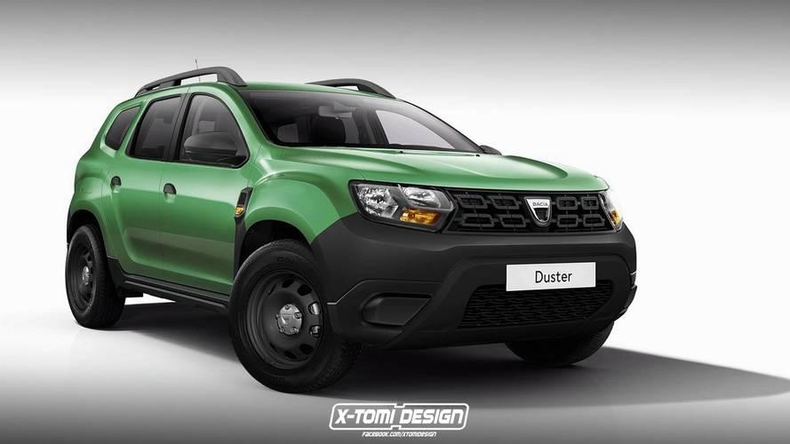 Rendus Dacia Duster Pick-up, GT, 3 portes, basique