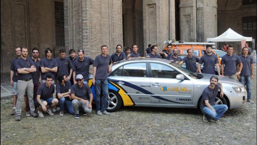 L'auto italiana senza pilota va negli Stati Uniti