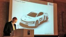 Volkswagen XL Sport, concept con motore Ducati