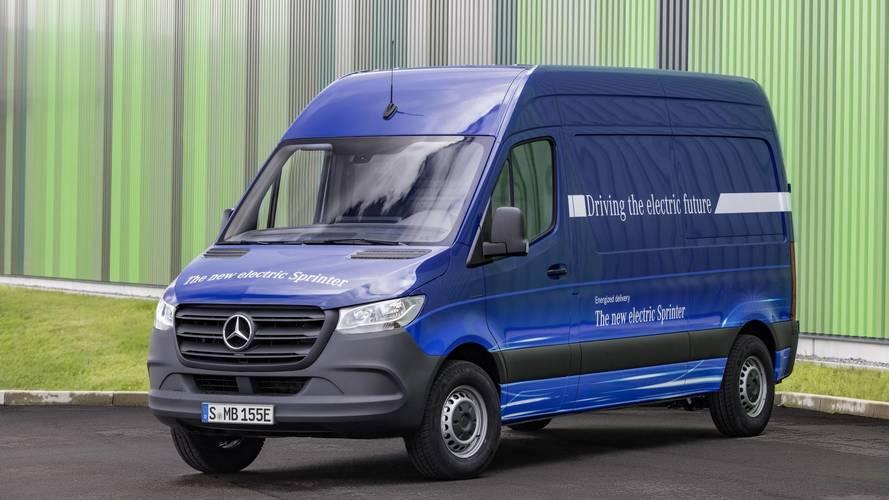 Mercedes Releases eSprinter Electric Van Specs