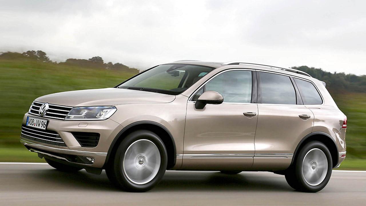Platz 8: VW Touareg