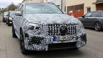 Photos espion - La future Mercedes-AMG GLE 63
