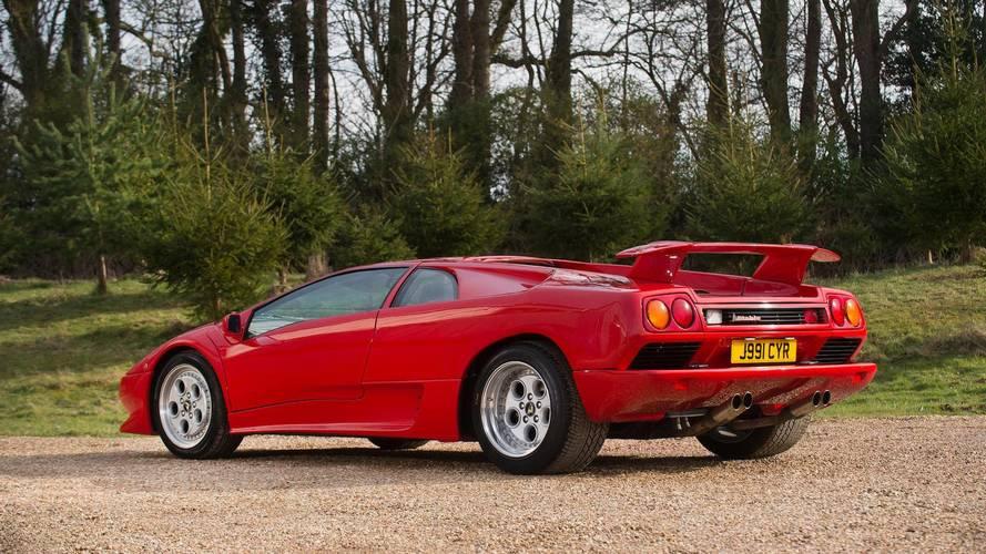 Rod Stewart's Lamborghini Diablo