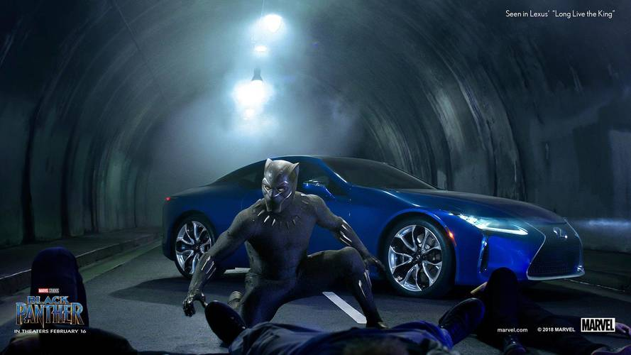Black Panther Sinks His Claws Into Lexus LS 500 For Super Bowl Ad