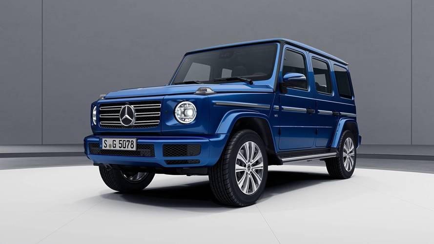 2019 Mercedes G-Class Gets Bright With Stainless Steel Package