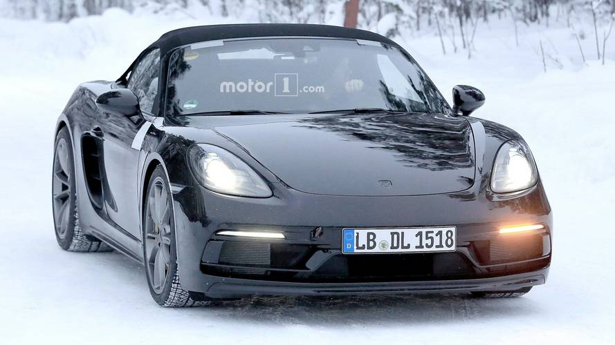 Porsche 718 Boxster Spyder Spied Looking Ready For Showrooms [UPDATE]