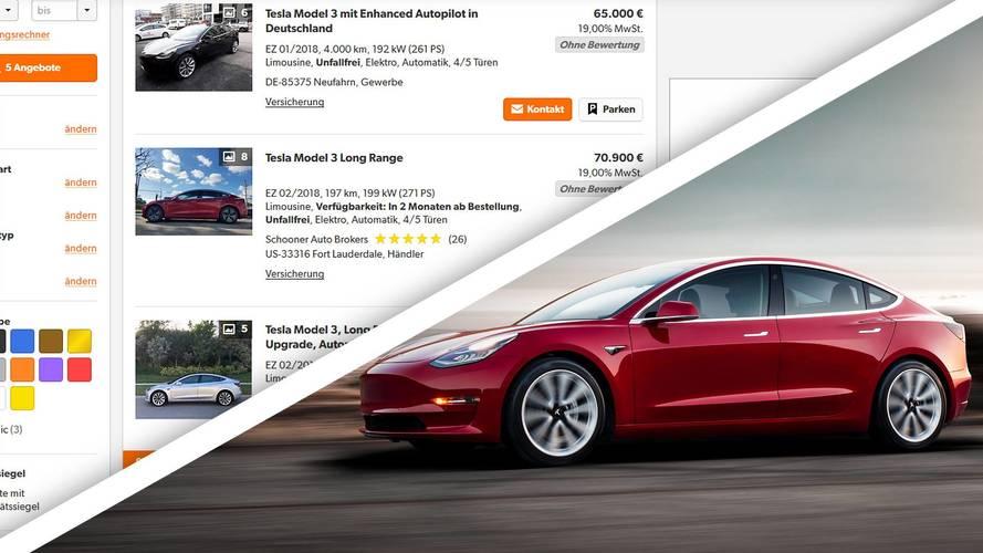 Tesla Model 3, si compra in Germania, ma a caro prezzo