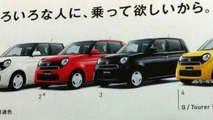 Honda N-One leaked brochure