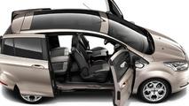 2013 Ford B-Max image reveals sliding doors