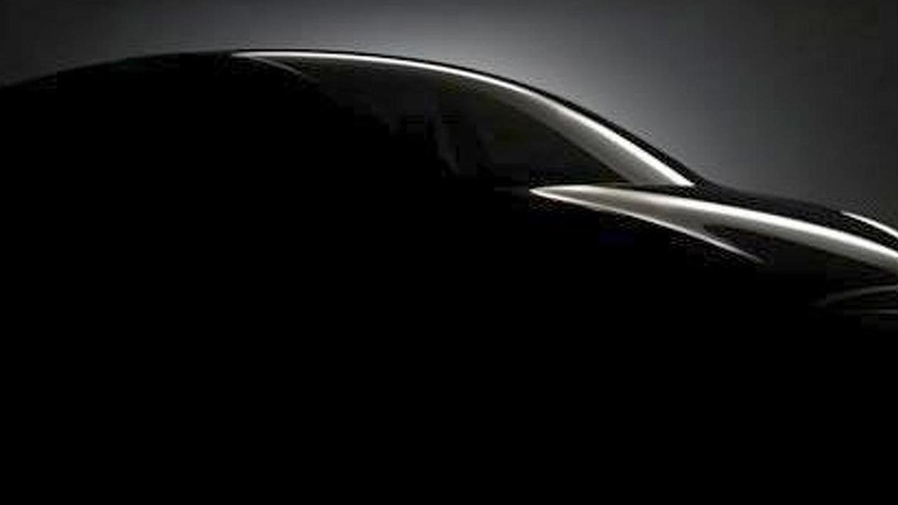 Tesla Model X Crossover teaser image - enhanced