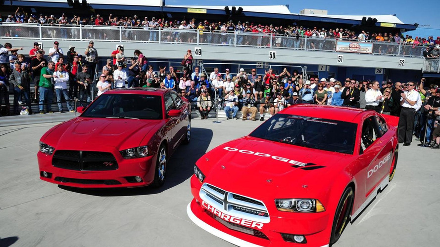 2013 Dodge Charger unveiled for NASCAR Sprint Cup Series