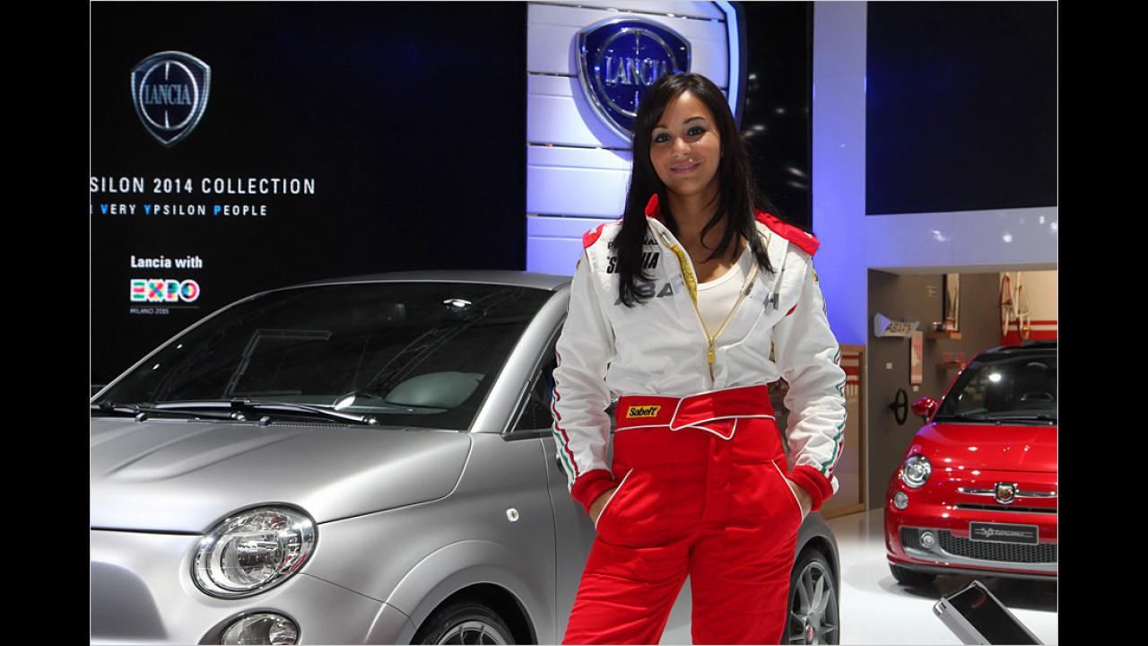 Ach ja, die Italienerinnen bei Fiat ... eine große Klappe traut Mann sich da nicht wirklich ...