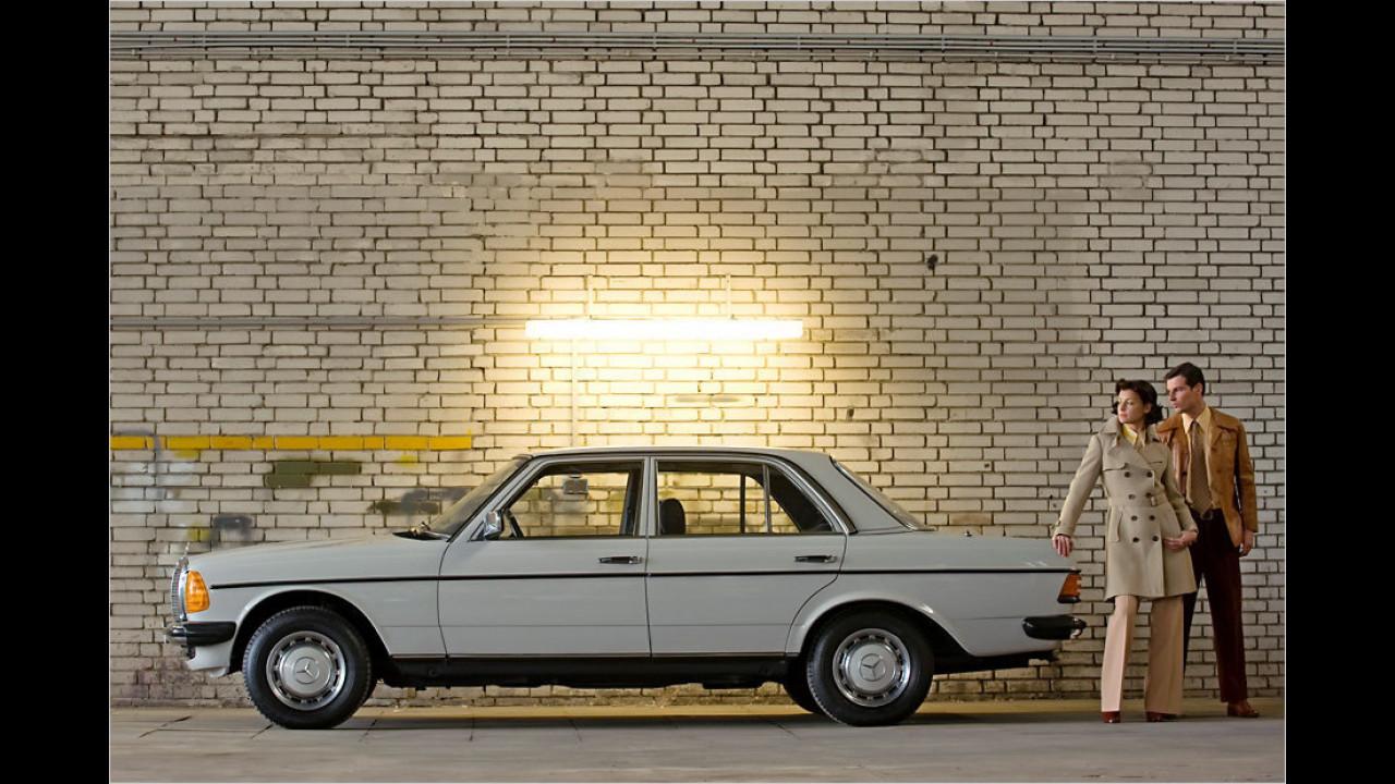 Platz 2: Mercedes W 123, 17.534 Fahrzeuge mit H-Kennzeichen