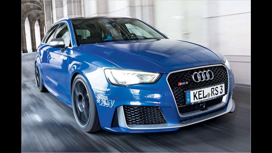 Flotte Frisur für den Audi RS 3