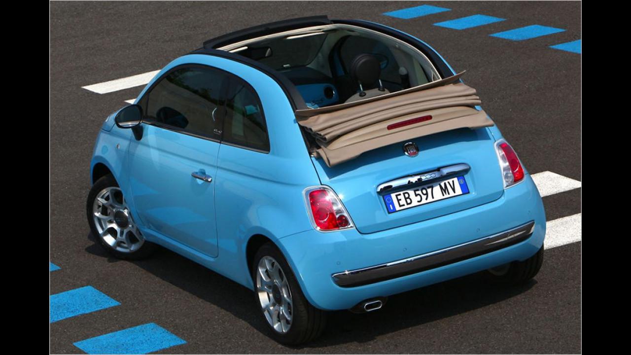 Platz 6: Fiat 500C