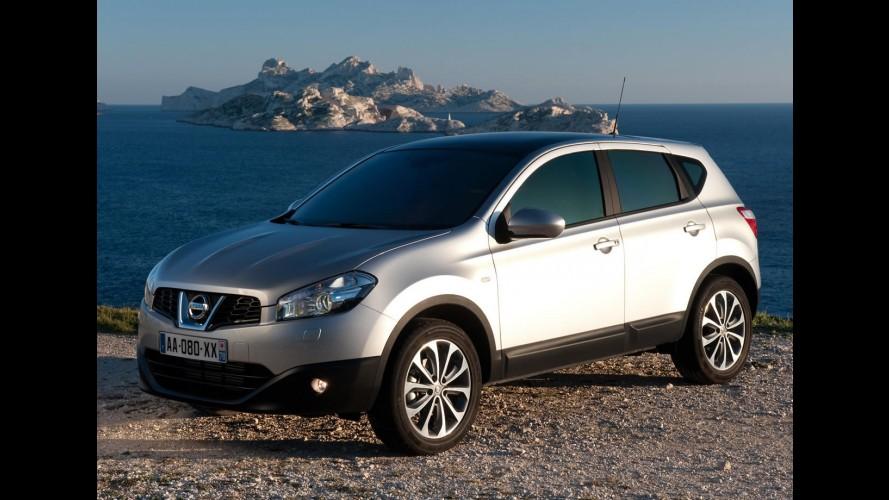 Nissan Qashqai atinge 1 milhão de unidades vendidas