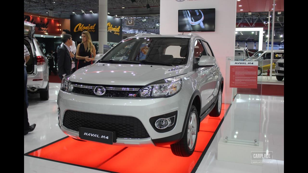 Salão do Automóvel: Great Wall apresenta seus modelos e promete fábrica no Brasil