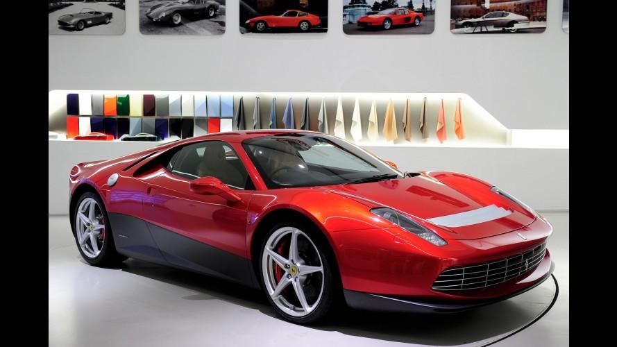 Ferrari dá detalhes de cupê criado especialmente para o astro do rock Eric Clapton