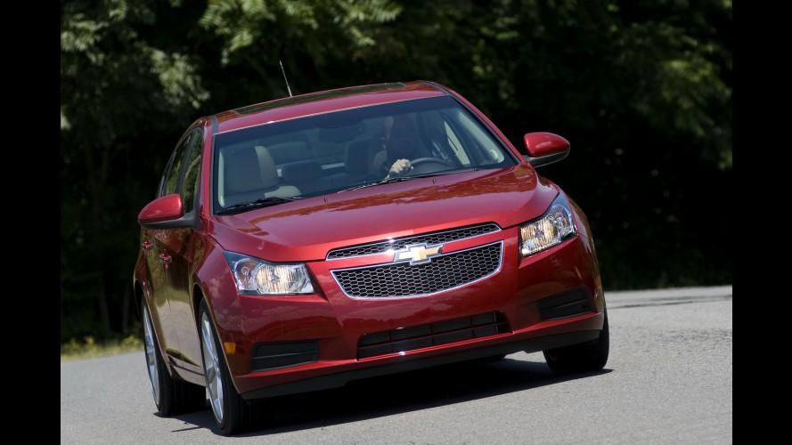 Chevrolet confirma lançamento de versão a diesel do Cruze nos Estados Unidos