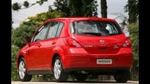 Nissan Tiida sofre redução de preços - modelo de entrada custa a partir de R$ 47.990,00