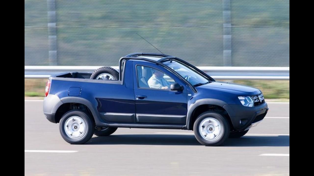 Renault mostrará picape Duster brasileira no Salão do Automóvel