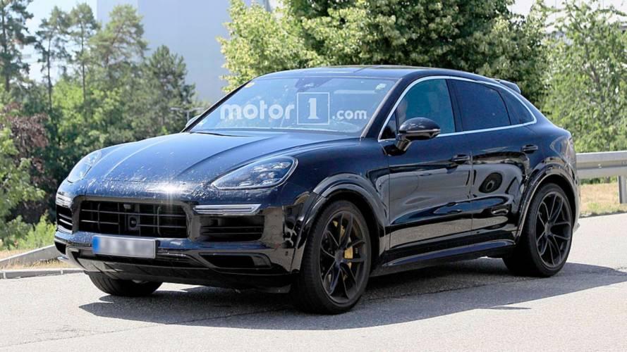 2020 Porsche Cayenne Coupe Spy Photos
