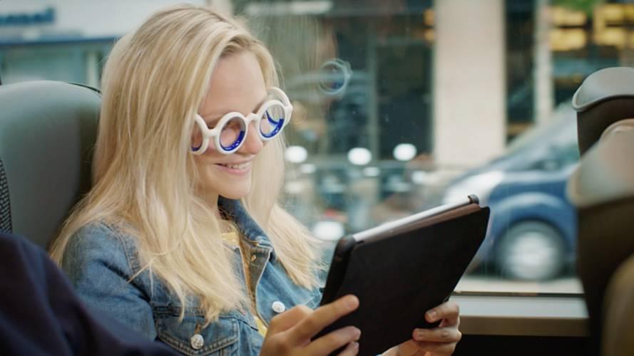 Citroën invente les lunettes contre le mal des transports !