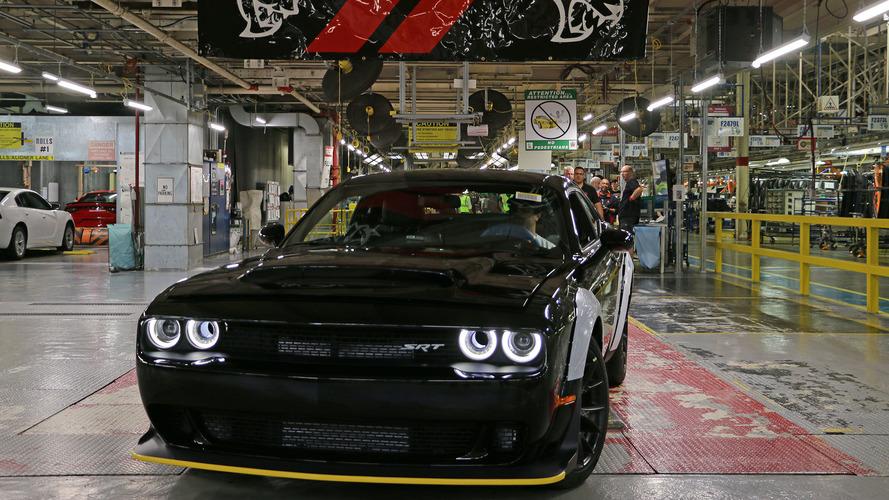 La dernière Dodge Challenger SRT Demon quitte l'usine de montage