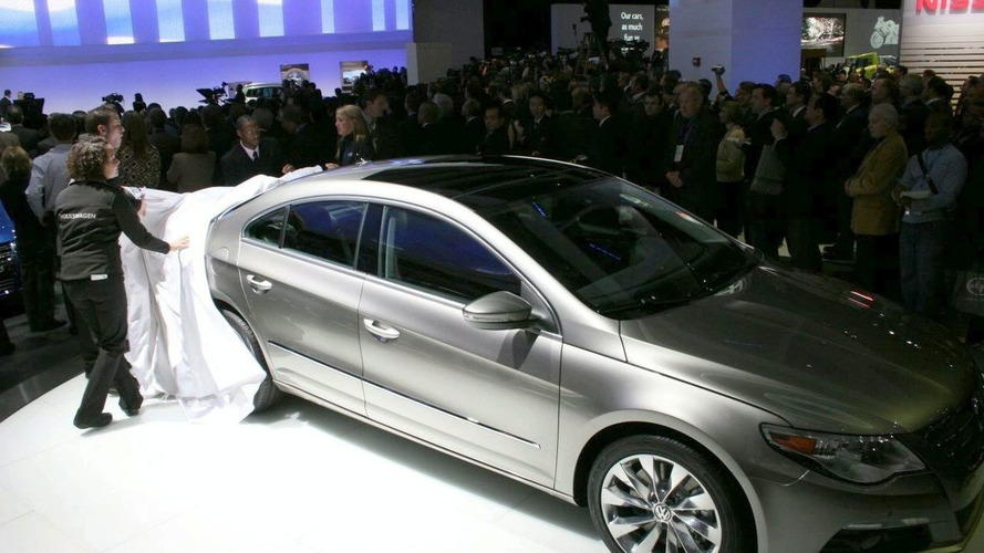 Volkswagen Passat CC Four-Door Coupe Revealed at Detroit