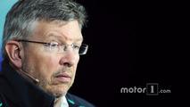 Ross Brawn, Mercedes AMG F1 Team Principal in the FIA Press Conference